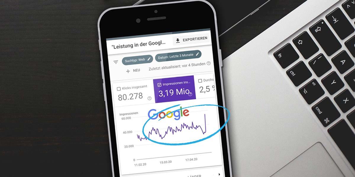 Google Algorithm Update: Como as classificações de SEO mudam em 4 dias - Exemplo & Melhores Práticas
